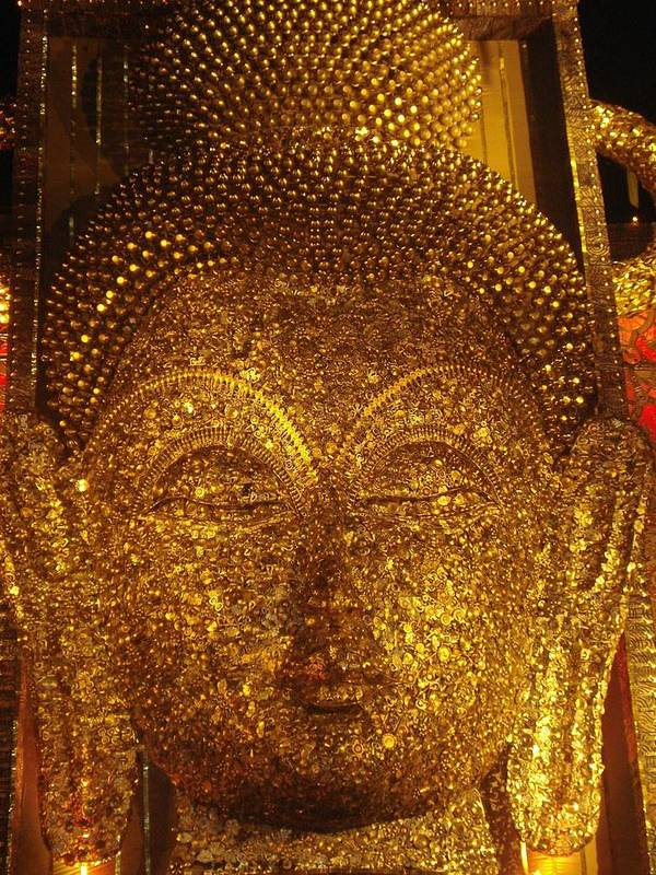 Installation Art Poster featuring the mixed media Buddha by Prasenjit Dhar