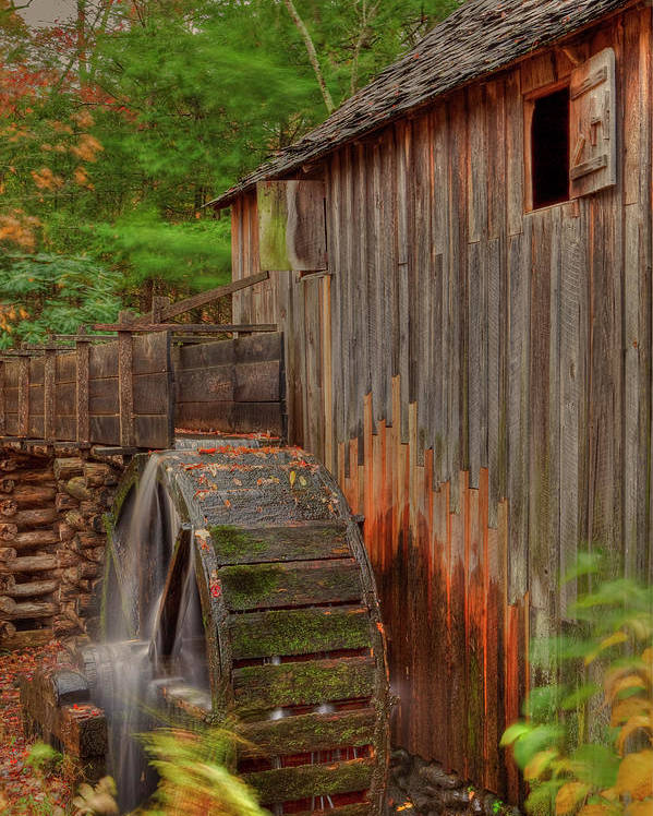 2010 Poster featuring the photograph Cable Mill II by Charles Warren