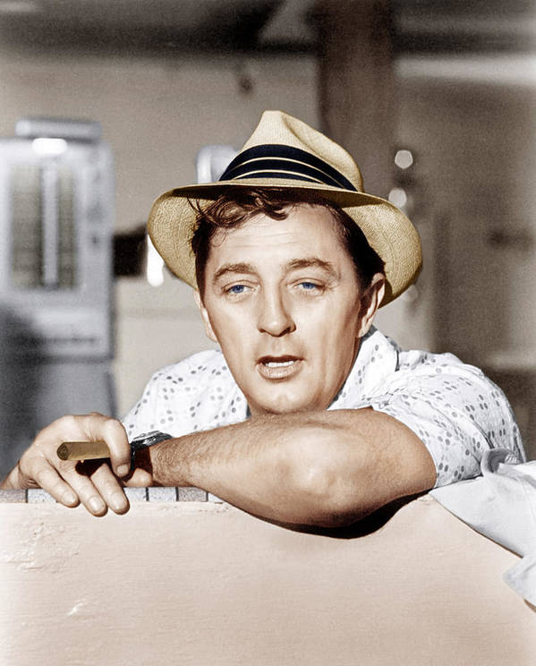 1960s Portraits Poster featuring the photograph Cape Fear, Robert Mitchum, 1962 by Everett