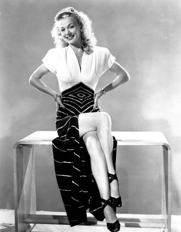 1940s Portraits Poster featuring the photograph Carole Landis, Mid 1940s by Everett