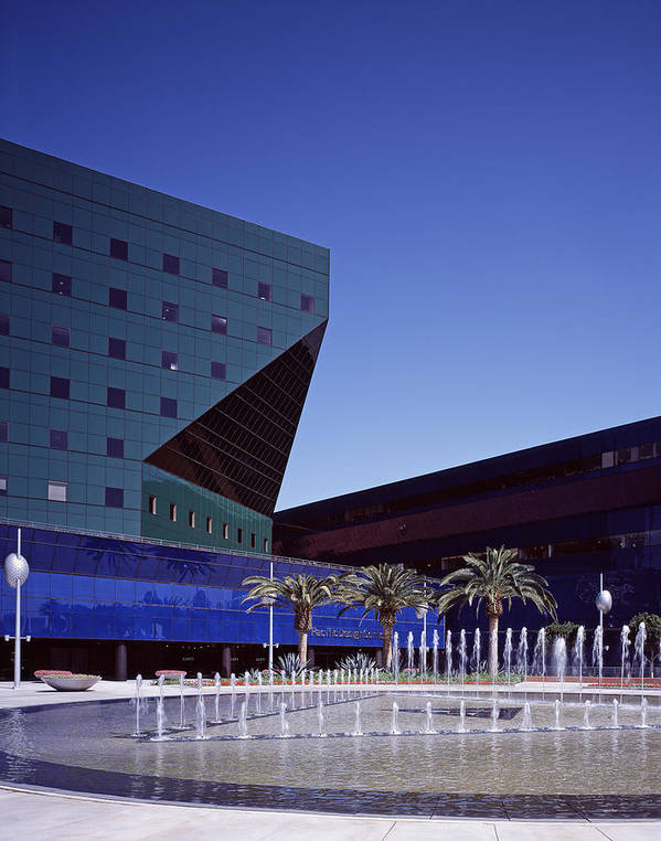 2000s Poster featuring the photograph Cesar Pellis Pacific Design Center by Everett