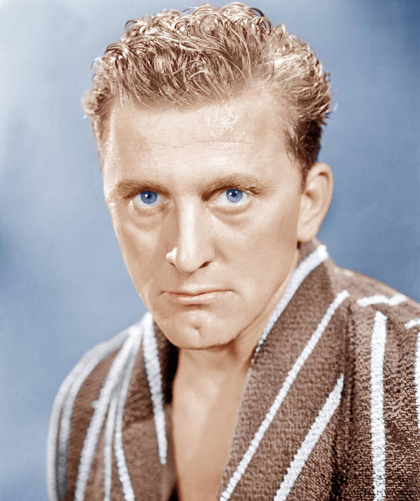 1940s Portraits Poster featuring the photograph Champion, Kirk Douglas, 1949 by Everett