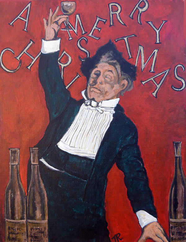 Toast Poster featuring the painting Cheers by Tom Roderick