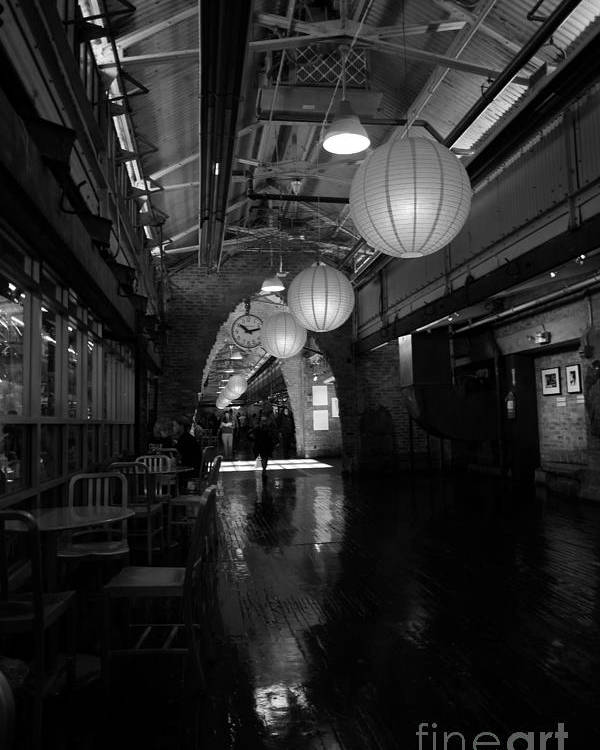 Chelsea Market Poster featuring the photograph Chelsea Market Interior by David Bearden