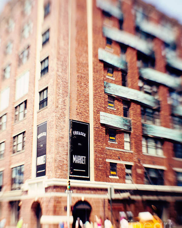 Chelsea Market Poster featuring the photograph Chelsea Market New York City by Kim Fearheiley