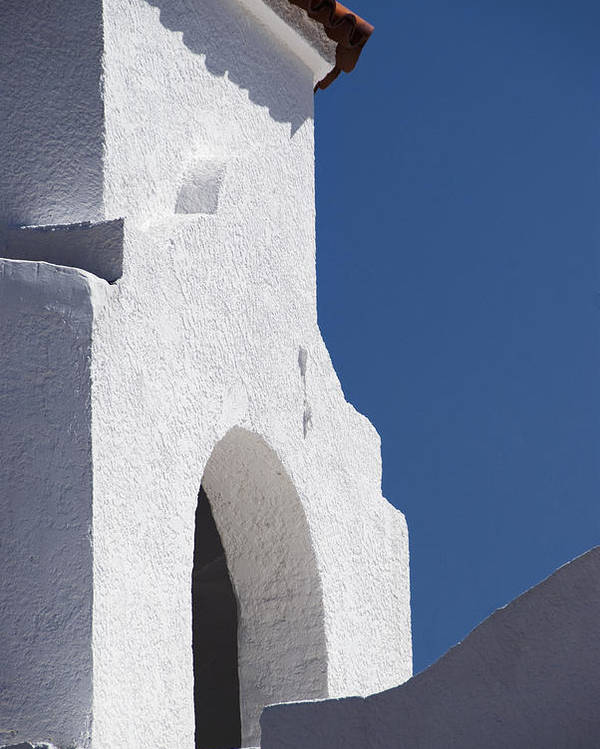 Architecture Poster featuring the photograph Church Bell Tower Chacras De Coria by Philippe Widling