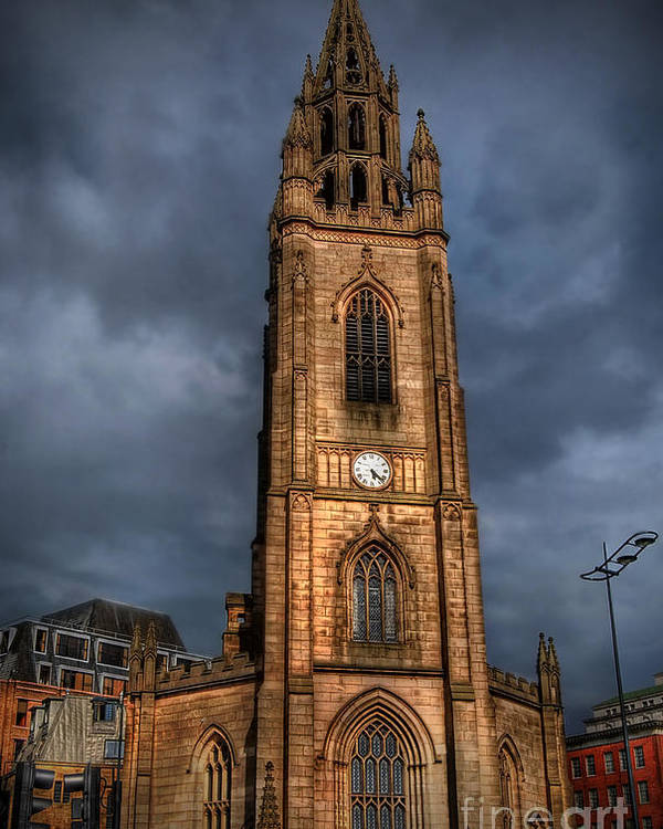 Yhun Suarez Poster featuring the photograph Church Of Our Lady - Liverpool by Yhun Suarez