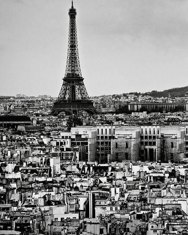 Vertical Poster featuring the photograph Cityscape Of Paris by Sbk_20d Pictures