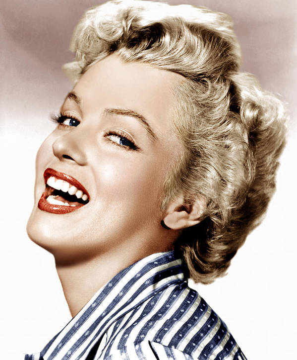 1950s Portraits Poster featuring the photograph Clash By Night, Marilyn Monroe, 1952 by Everett