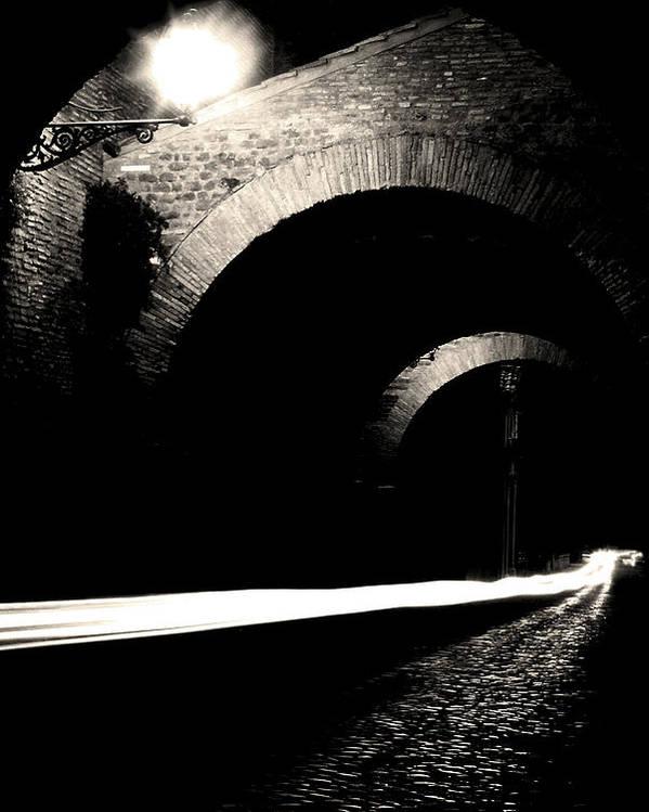 Clivus Scauri Poster featuring the photograph Clivo Di Scauro by Fabrizio Troiani