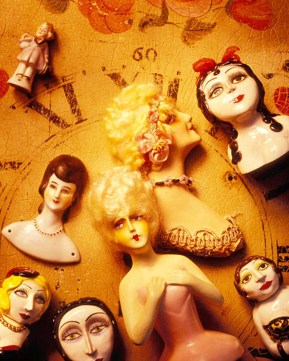 Doll Poster featuring the photograph Collectable Dolls by Garry Gay