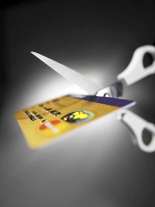 Credit Card Poster featuring the photograph Credit Card Debt by Tek Image