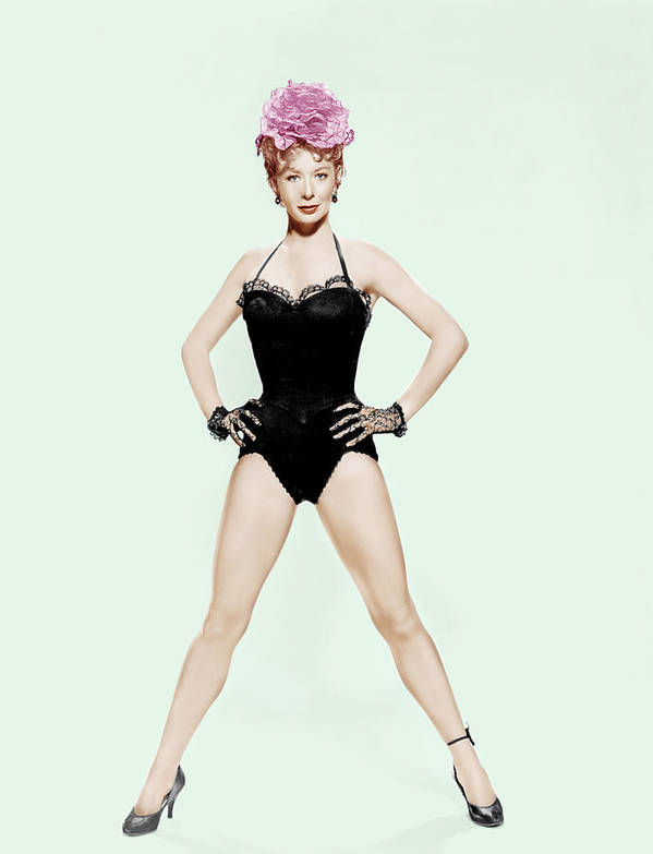 1950s Portraits Poster featuring the photograph Damn Yankees, Gwen Verdon, 1958 by Everett