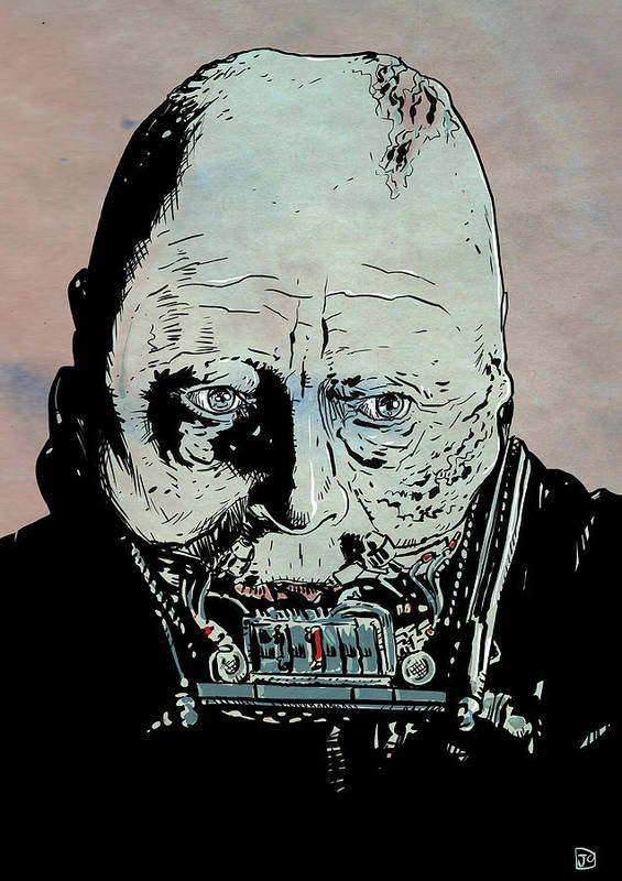 Darth Vader Poster featuring the drawing Darth Vader Anakin Skywalker by Giuseppe Cristiano