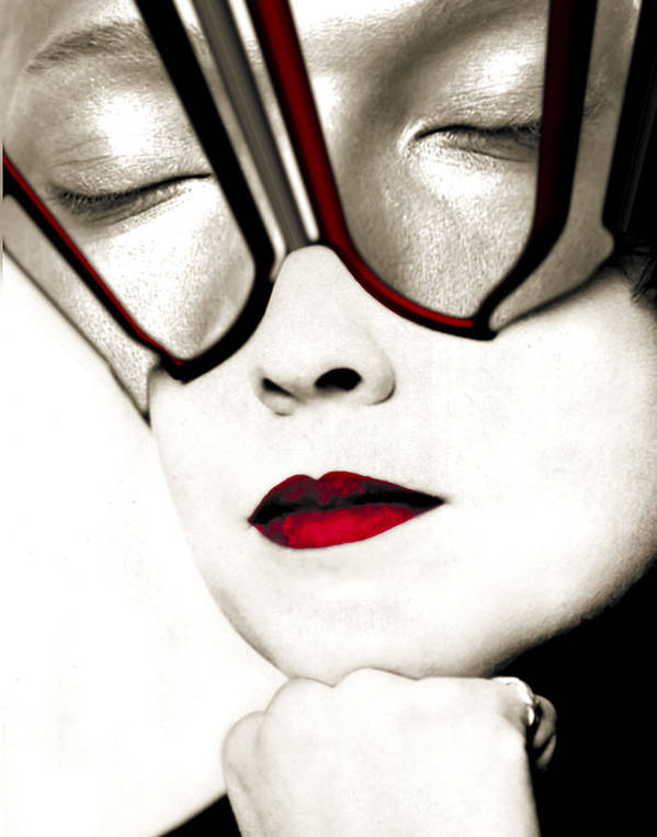 Face Poster featuring the photograph Daydreamer by Jim Painter