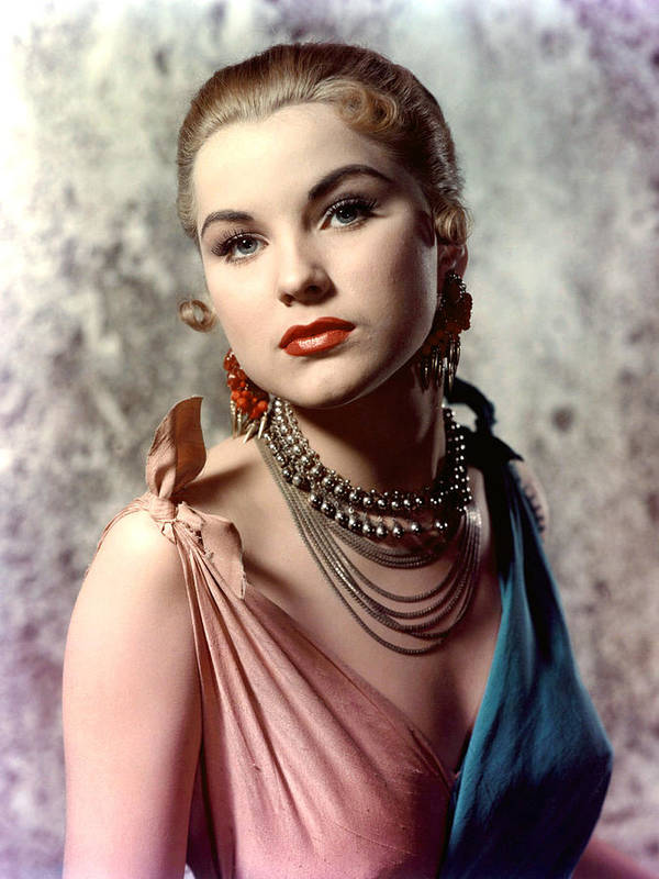 1950s Portraits Poster featuring the photograph Debra Paget, Ca. Early 1950s by Everett