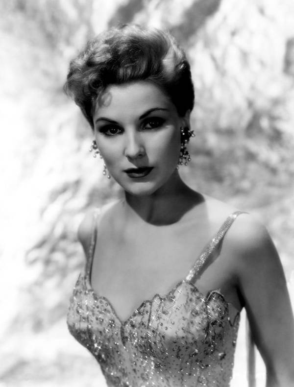 1950s Portraits Poster featuring the photograph Debra Paget, Ca. Mid-1950s by Everett