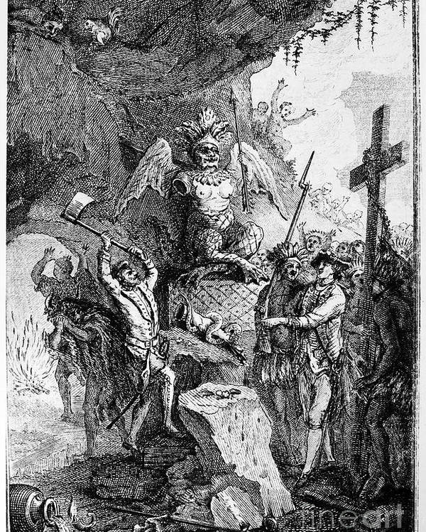 1750 Poster featuring the photograph Destruction Of Idols, C1750 by Granger