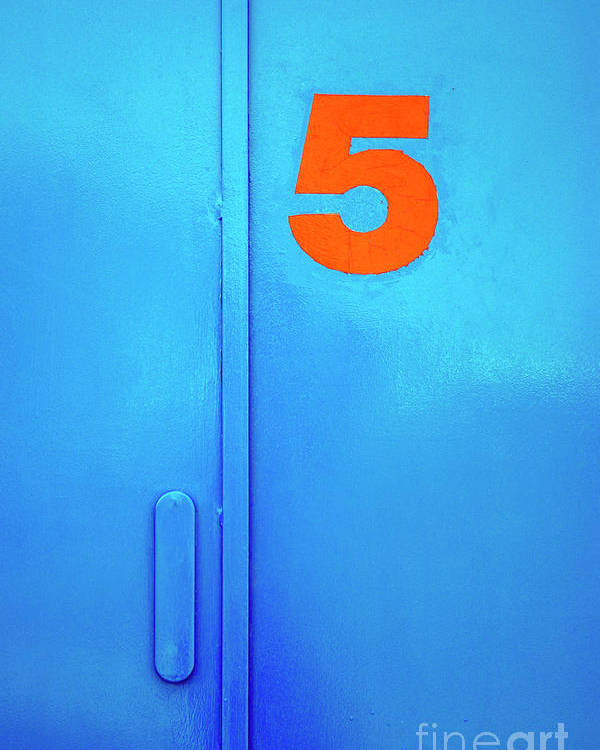 Access Poster featuring the photograph Door Five by Carlos Caetano