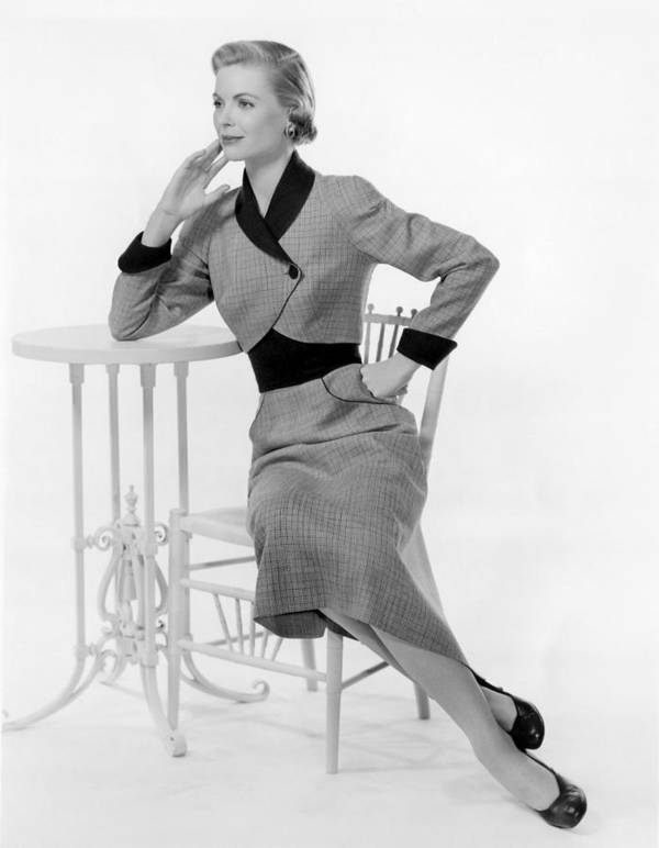 1950s Fashion Poster featuring the photograph Dorothy Mcguire, 1950s by Everett