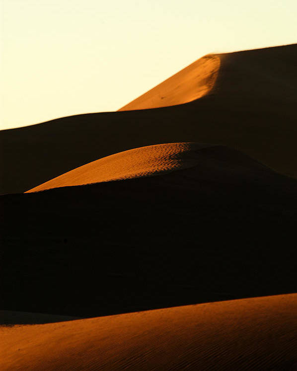 Africa Poster featuring the photograph Dune Mood by Alistair Lyne