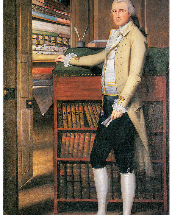 Elijah Boardman Poster featuring the painting Elijah Boardman by Ralph Earl