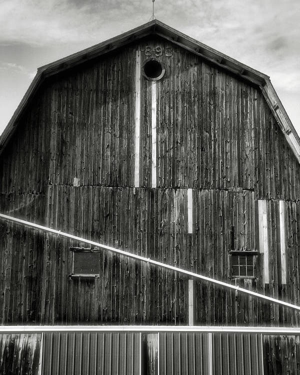Architecture Poster featuring the photograph Finger Lakes Barn II by Steven Ainsworth
