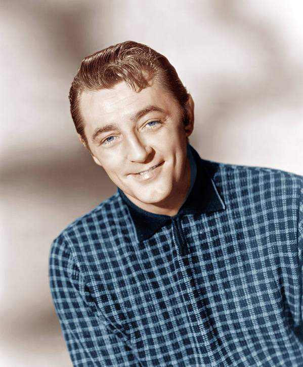 1950s Portraits Poster featuring the photograph Fire Down Below, Robert Mitchum, 1957 by Everett