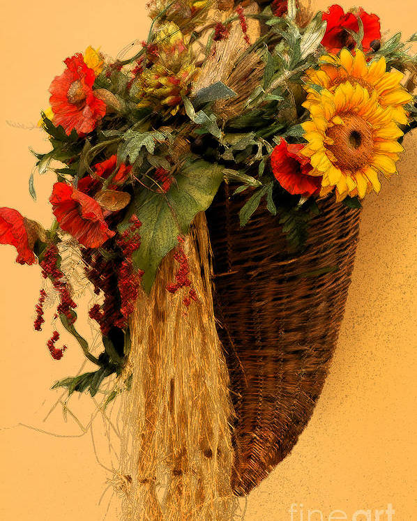 Floral Poster featuring the photograph Floral Horn Of Plenty by Mike Nellums