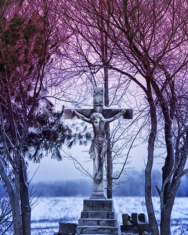 Religion Poster featuring the photograph Forgiveness by Linda Tiepelman