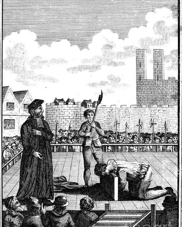1554 Poster featuring the photograph Foxes Book Of Martyrs by Granger