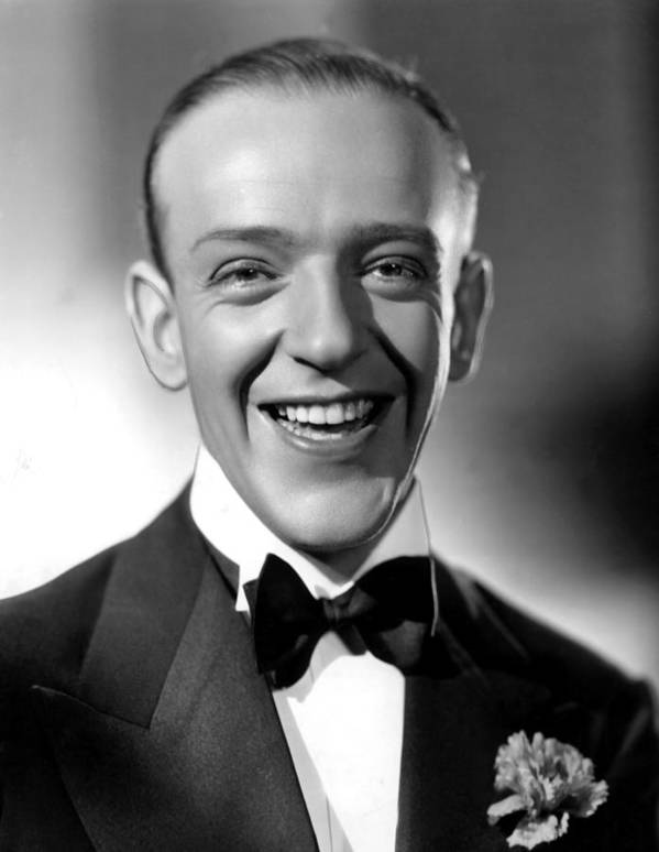 1930s Fashion Poster featuring the photograph Fred Astaire, 1935 by Everett