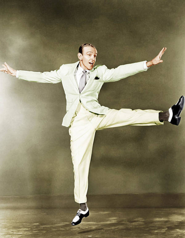 1930s Portraits Poster featuring the photograph Fred Astaire, Ca. 1930s by Everett
