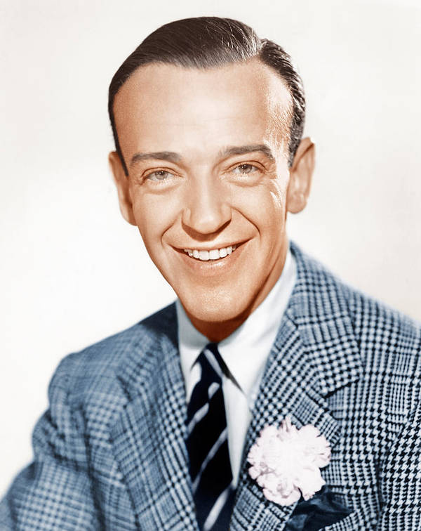 1940s Portraits Poster featuring the photograph Fred Astaire, Ca. 1941 by Everett