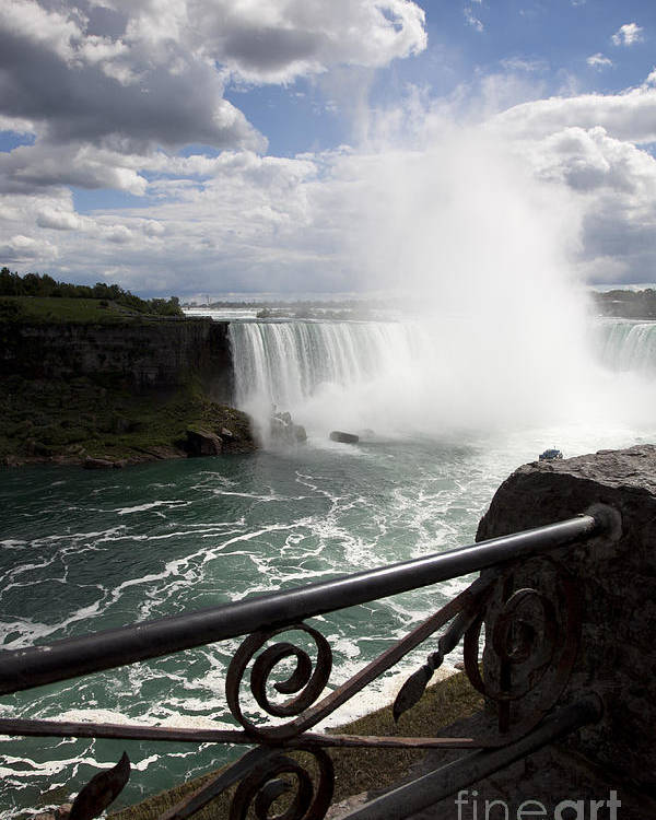Niagara Poster featuring the photograph Gateway To Beauty by Amanda Barcon
