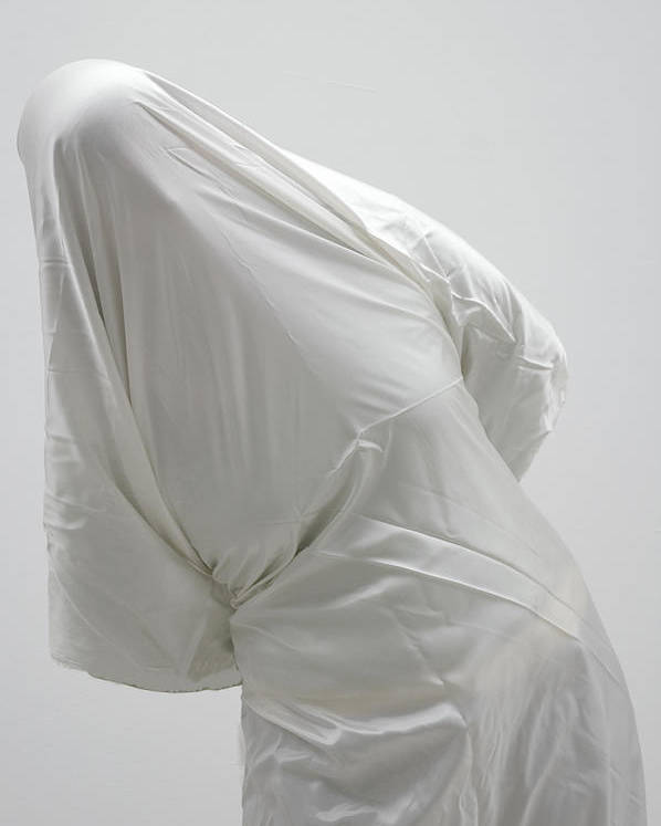 Ghost Poster featuring the photograph Ghost - Person Covered With White Cloth by Matthias Hauser