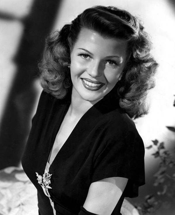 1940s Portraits Poster featuring the photograph Gilda, Rita Hayworth, 1946 by Everett