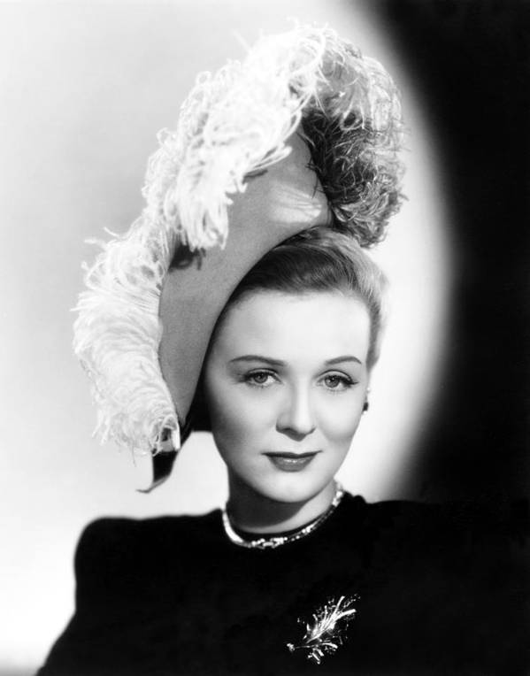 1940s Portraits Poster featuring the photograph Gloria Stuart, Still From She Wrote The by Everett