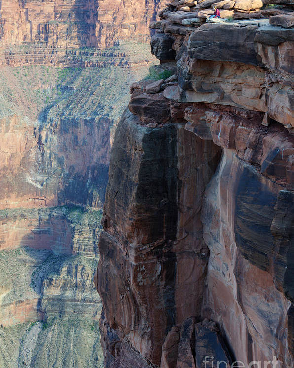 Grand Canyon Poster featuring the photograph Grand Canyon Close Enough by Bob Christopher