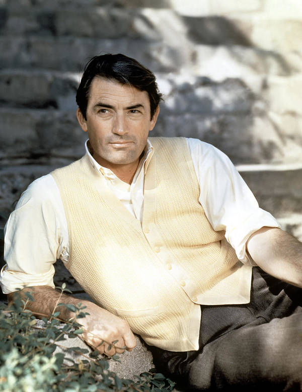 1950s Portraits Poster featuring the photograph Gregory Peck, Ca. Late 1950s by Everett