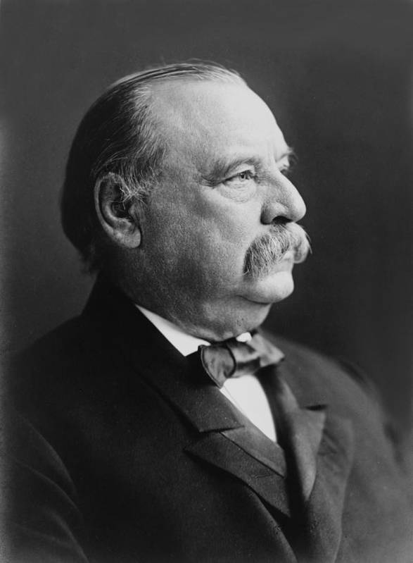 president Grover Cleveland Poster featuring the photograph Grover Cleveland - President Of The United States by International Images
