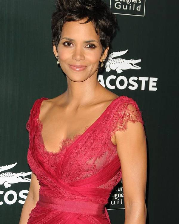 Halle Berry Poster featuring the photograph Halle Berry At Arrivals For 13th Annual by Everett