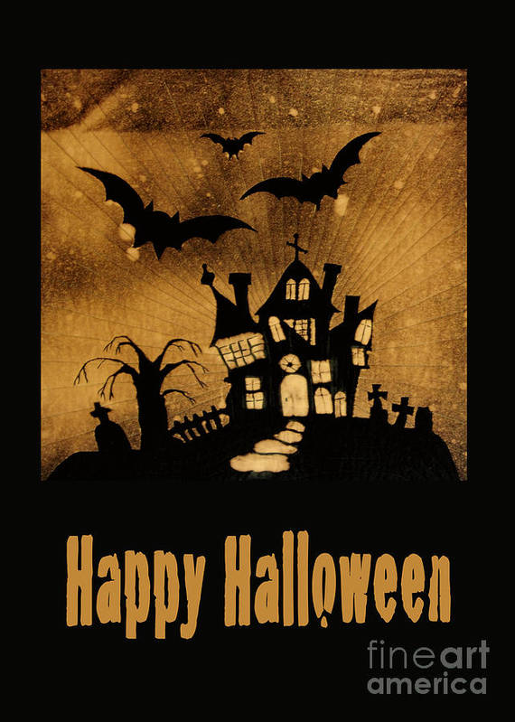 Halloween Poster featuring the photograph Halloween Quilt Top by Nancy Greenland