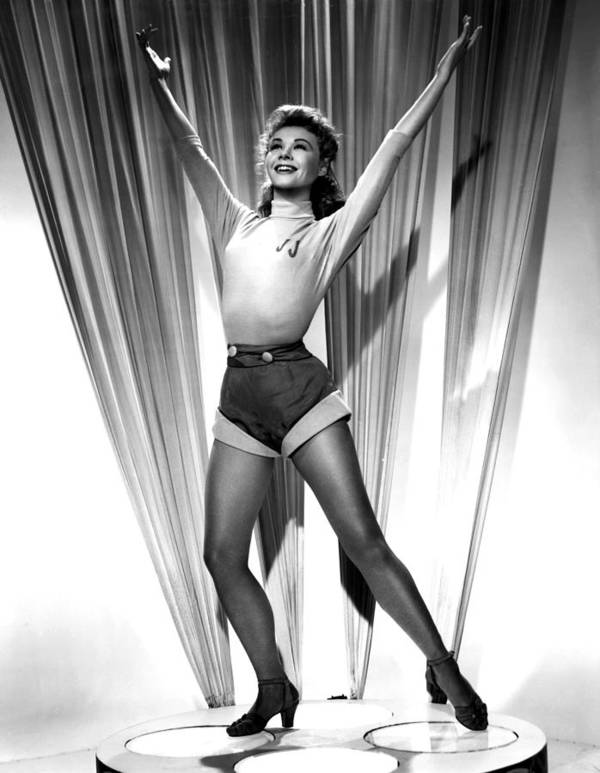 1950s Portraits Poster featuring the photograph Happy Go Lovely, Vera-ellen, 1951 by Everett