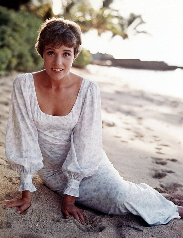 1960s Fashion Poster featuring the photograph Hawaii, Julie Andrews, 1966 by Everett
