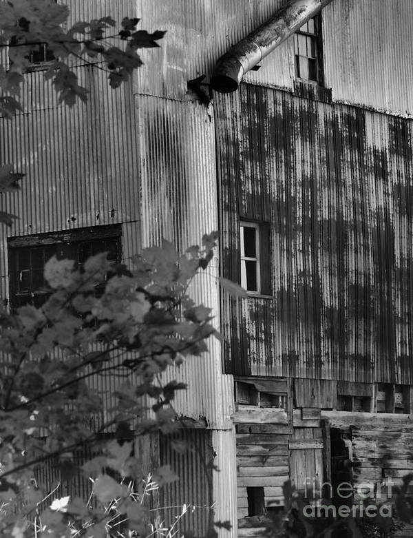 Old Mill Poster featuring the photograph Hearns Feed Mill by Tamera James