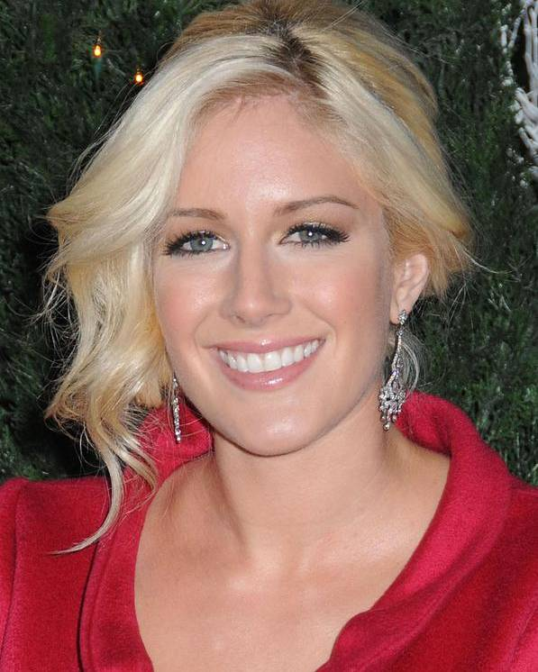 Mtv Hosts The Hills Season 4 Finale Poster featuring the photograph Heidi Montag At Arrivals For Mtv Hosts by Everett
