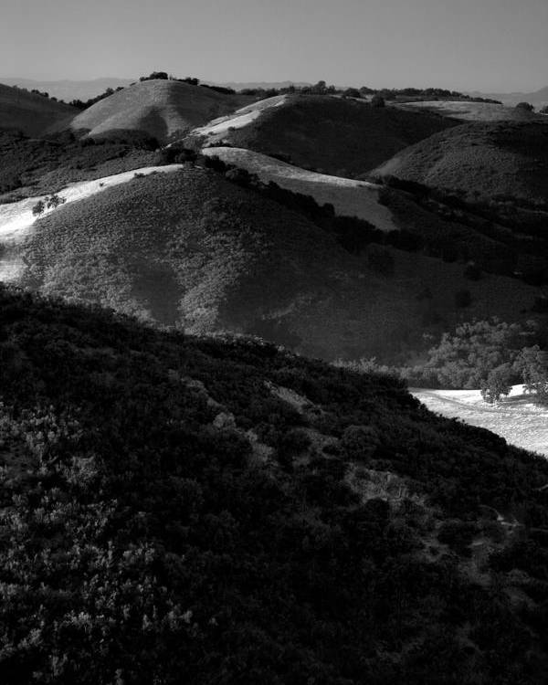 California Poster featuring the photograph Hills Of Light And Darkness by Steven Ainsworth
