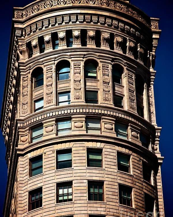 America Poster featuring the photograph Historic Building In San Francisco - Colour by Hideaki Sakurai