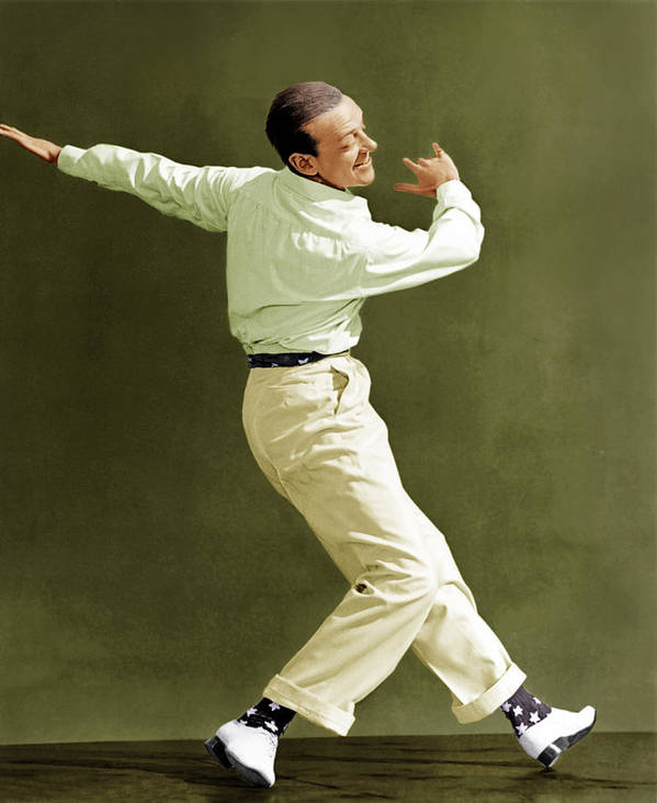 1940s Portraits Poster featuring the photograph Holiday Inn, Fred Astaire, 1942 by Everett